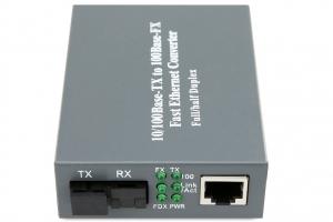 Bộ chuyển đổi quang điện Cablexa 10/100M 1 sợi (ảnh 1)
